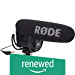Rode VideoMicPro Compact Directional On-Camera Microphone with Rycote Lyre Shockmount (Renewed)