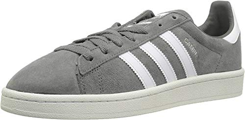 adidas Originals Men's Campus Sneakers, Grey Three Chalk White, ((9 M US)