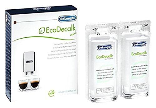 DELONGHI Liquido DECALCIFICANTE Universale ANTICALCARE Macchine Caffe Naturale 2 DOSI