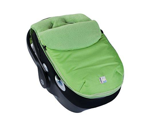 Kutnik Saco de abrigo universal polar para silla de coche - Verde kiwi