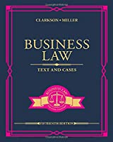 Business Law: Text and Cases, 15th Edition Front Cover