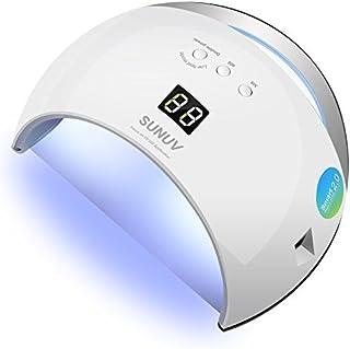 SUNUV SUN6 48W LED UV Luz Lámpara Secadora Portable de Uñas para Esmaltes Basados en Gel de uñas con 3 temporizadores pan...
