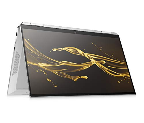 HP Spectre x360 13-aw0015ng (13,3 Zoll / FHD Touch) Convertible (Intel Core i5-1035G4, 8GB DDR4 RAM, 512GB SSD, 32GB Intel Optane, Intel Iris Plus Grafik, Win10) silber inkl. USB-C Hub