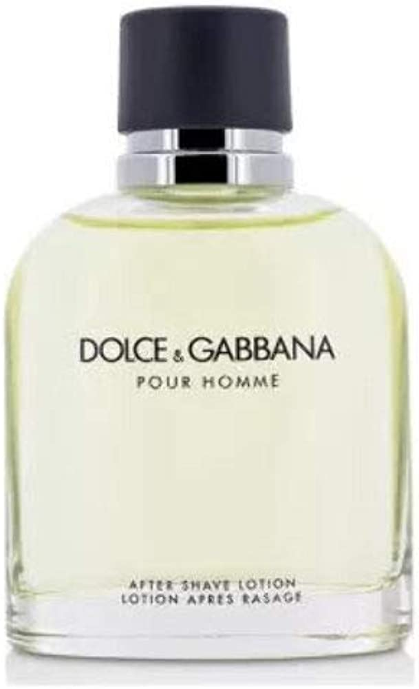 Dolce & gabbana pour homme aftershave lotion dopobarba, 125 ml 3423473034339