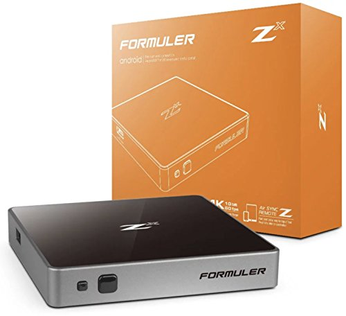 Formuler Z X Plus 4 K 60 FPS Quad Core 1 Go DDR4 Android 7
