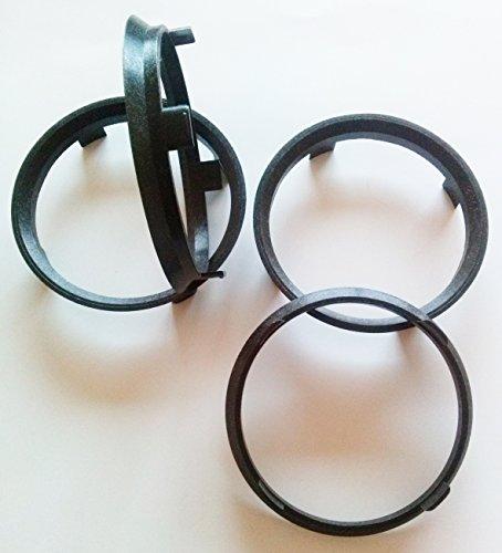 4 X 89,1 - 84,1 Anneaux alliage centrage de roue Moyeu PRÉVENIR VIBRATION