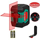 Laser Level, HYCHIKA 50 Feet Line Laser with Dual Modules, Switchable...