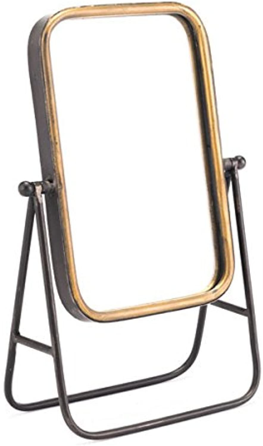 Zuo A10548 Mirror Stand Antique gold