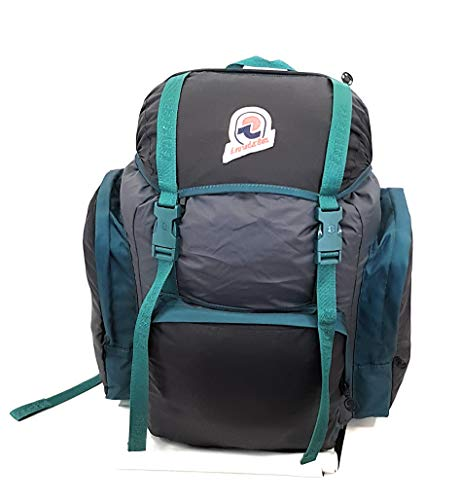 Invicta Backpack Trekking and Leisure Monviso X Black/Green 2084 BH9