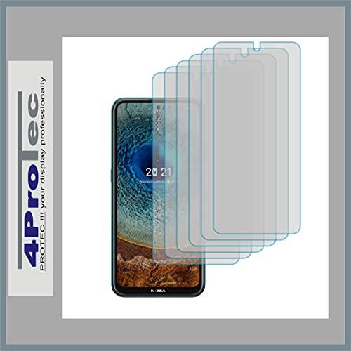 4ProTec   6X Bildschirm-Schutz-Folie MATT für Nokia X10 Dual SIM