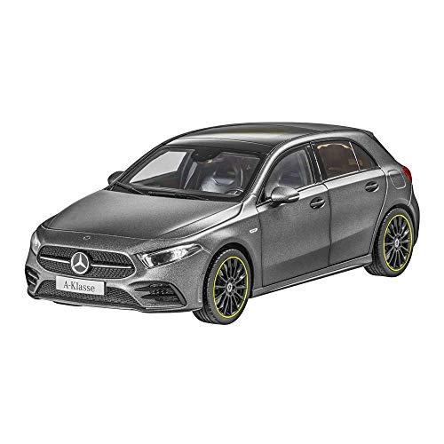 Mercedes Benz A 177 A Klasse AMG Line Mountaingrau 2018 Modellauto Maßstab 1:18 Metall NOREV mit beweglichen Teilen