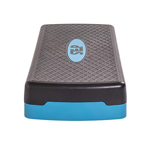 The Step  Adjustable Aerobic Step Platform for Cardio and Strength Training