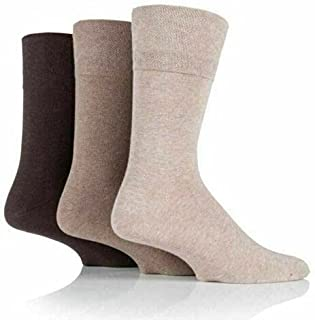 DreamzFit - Mens Socks 6 Pair Gentle Grip Non Elastic Colourbust & Assorted Socks | Men Soft Comfortable Socks with Honey ...