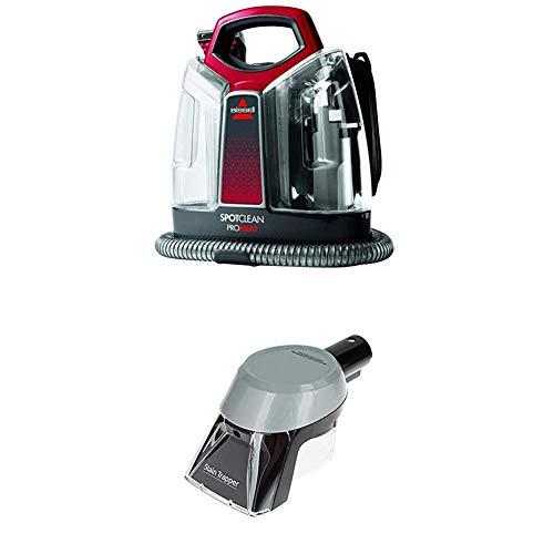 BISSELL 36988 SpotClean ProHeat Flecken-Reinigungsgerät + Stain Trapper Aufsatz zur Fleckenreinigung für alle Bissell Flecken- und Teppichreinigungsgeräte