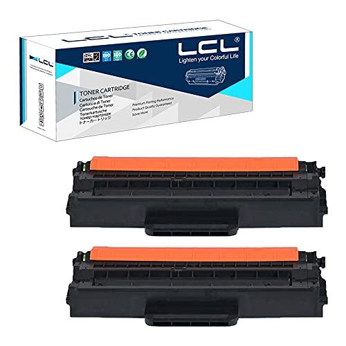 LCL Cartucce di Toner Compatibile MLT-D103L MLT-D103S 2500 pagine (2 Nero) Sostituzione per Samsung ML-2950 ML-2951 ML-2955 SCX-4729FW SCX-4728FD SCX-4729FD ML-2950ND 2955ND 2955DW SCX-4701ND 4726FN
