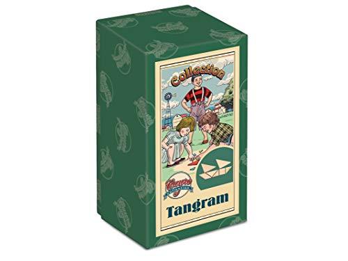 Cayro - Tangram Collection - Juego de razonamiento y Creatividad - Desarrollo de Habilidades cognitivas e inteligencias múltiples - Juego de Mesa (506)
