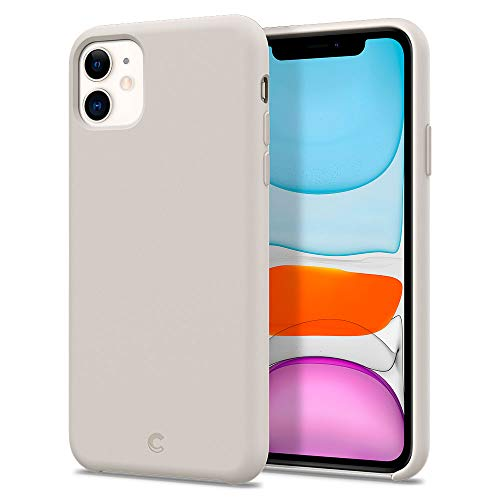 CYRILL Silicone Designed for Apple iPhone 11 Case (2019) - Stone