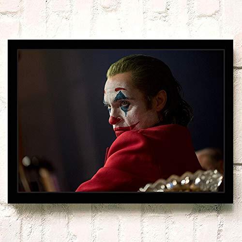 IHlXH JokerJoaquin PhoenixHeidebuchDC Film ComicsWandkunstGemälde Druck auf Leinwand Wohnzimmer Poster Bilder Wohnkultur 9 30cmX42cmA3 Kein Rahmen