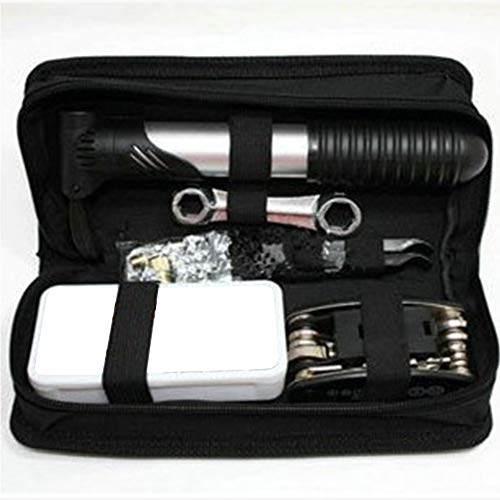 Alicer Fahrradwerkzeug,Fahrrad Werkzeug Reparatur Set,16-in-1-Multifunktions-Fahrrad Radfahren Mechanische Repair Tool Kit mit Aufbewahrungstasche