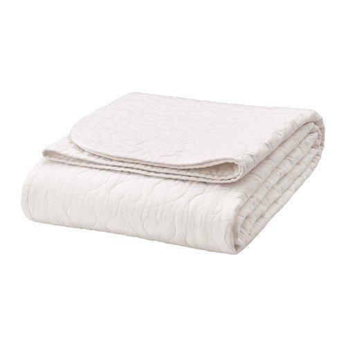 IKEA VÄNSKAPLIG Tagesdecke für Kinderbett; in weiß; (150x250cm)
