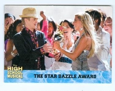 Sharpay and Ryan trading card High School Musical 2006 Topps #46 Ashley Tisdale and Lucas Grabeel