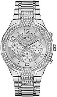 Guess Sport Watch for Women, Stainless Steel, Analog - W0628L1