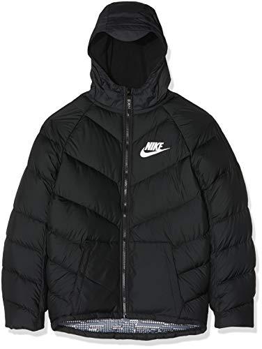 Nike Kinder B NSW Parka DOWN OW Sport Jacket, Black/White, S