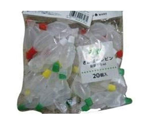 Soy sauce,sauce Fish Bottles 20pcs×2sets. Made of polyethylene.Bento box Kitchen Lunch box.Made in Japan.