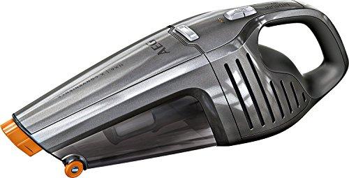 AEG ECO HX6-35TM Akkusauger (beutellos, Handstaubsauger mit bis zu 35 Minuten Laufzeit, 18 V Lithium-Power-Akku, intelligente Ladeabschaltung, inkl. Fugendüse) grau (Generalüberholt)