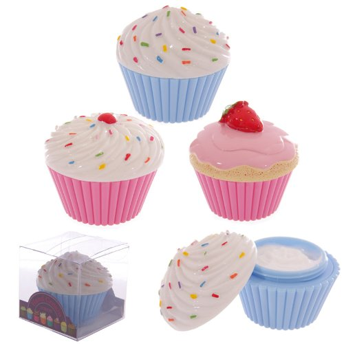 Strawberry Hand Cream in Yummy Cup Cake Holder
