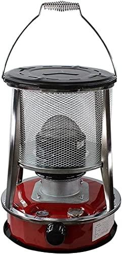 LLRZ Riscaldatore Riscaldamento a convezione,Stufa in Acciaio Inox da Campeggio Esterno for Riscaldamento,Massimo 900 0BTU/H,capacità dell'olio 4.6L/6L Termoventilatore (Dimensione : 4.6L)