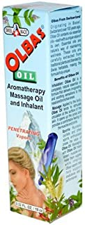 Olbas Therapeutic, Aromatherapy Inhalant and Massage Oil, 0.32 fl Ounces. Pack of 1 Bottle