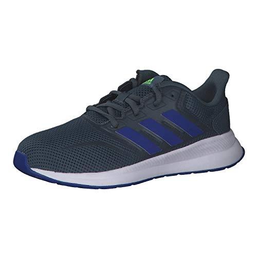 adidas Unisex-Kinder RUNFALCON K Sneaker, Azuleg/Azurea/Versen, 33.5 EU