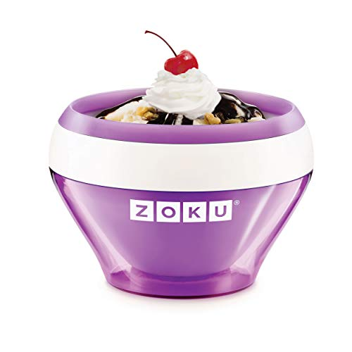 Zoku Ice Cream Maker Purple - Ice cream - sorbet - frozen yoghurt in 10 minutes