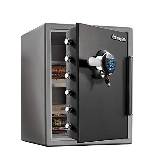 Master Lock Sentry Safe Cassaforte Combinazione Digitale, Ignifuga e a Tenuta Stagna, 56 L