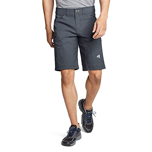 Eddie Bauer Men's Guide Pro Shorts, Storm Regular 34