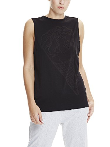 Bench Dames Ice-cream Burn Out Vest Top