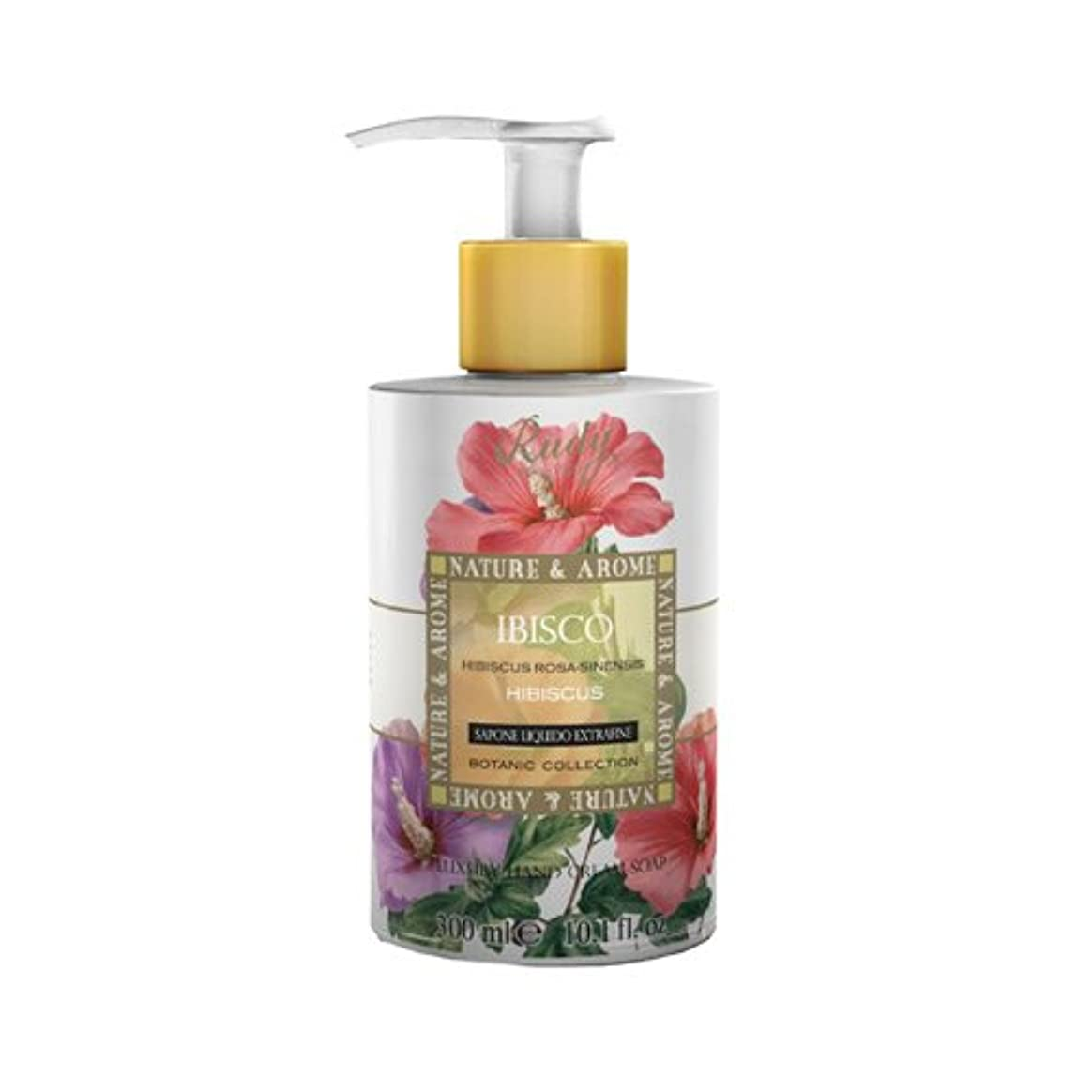 会計マカダム長さRUDY Nature&Arome SERIES ルディ ナチュール&アロマ Liquid Soap リキッドソープ ハイビスカス