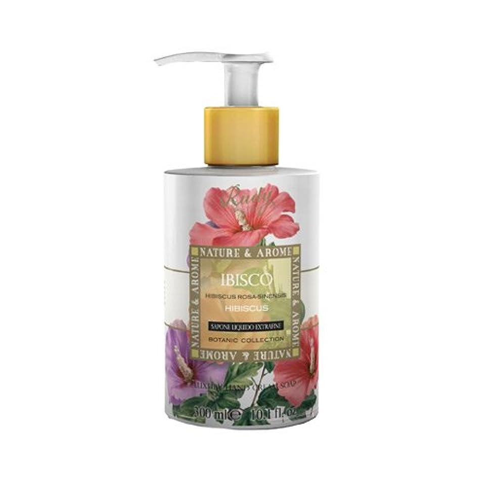 傑出した優越冬RUDY Nature&Arome SERIES ルディ ナチュール&アロマ Liquid Soap リキッドソープ ハイビスカス
