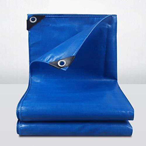 ZHPBHD Lona Lona Sombra Tierra de PVC Sheet Covers Abrigo de la Tienda Espesar la Lona Impermeable for Trabajo Pesado Reforzado al Aire Libre, Multi Tamaños, 500G / M² Lona