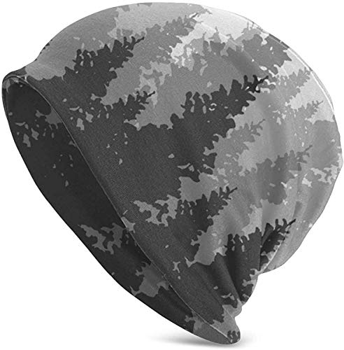 Quintion Cooper Täglich Strickmütze für Unisex Antike Earth Map Skull Cap Schwarz Gr. Einheitsgröße, Farbe1