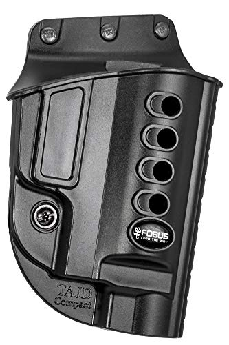 Fobus TAJD Evolution Holster for Taurus Judge Steel Frame only (except Raging Judge) , Right Hand Paddle , Black