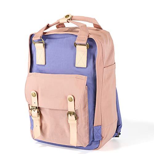 HONGYU Elegante Zaino da Viaggio Scuola Multiuso per Uomo Donna, Zaino per Laptop Zaino da College Zaino da Scuola (Colore : Style-P)