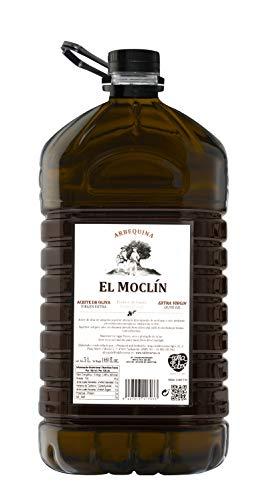Aceite de Oliva Virgen Extra Arbequina 5 Litros El Moclín Producto de España.