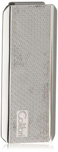 Colibri Jewelry 'Ascari' Polished Stainless Steel Pachmayr Pattern Money Clip