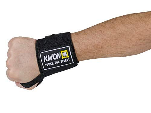 KWON® WRIST [2er Set] Handgelenkbandage / Handgelenkstütze / Handgelenkschoner /Bänder / Bandagen für Bodybuilding + Fitness