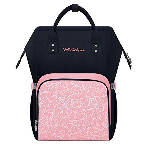 Disney Minnie Mouse Mommy Bag Rucksack Baby Windeln Kinderwagen Wickeltasche rosa