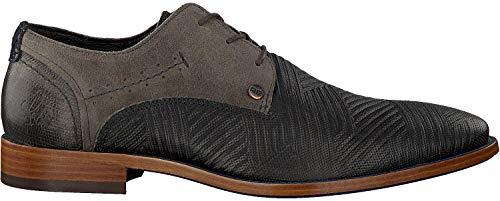 Rehab Business Schuhe Solo Zigzag Grau Herren - 44 EU
