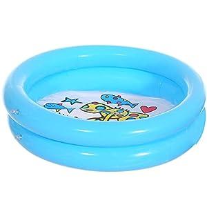 #N/D Piscina inflable Piscina redonda Infantil acolchado piscina niño bola pozo pesca juguetes centro de juego para exterior interior