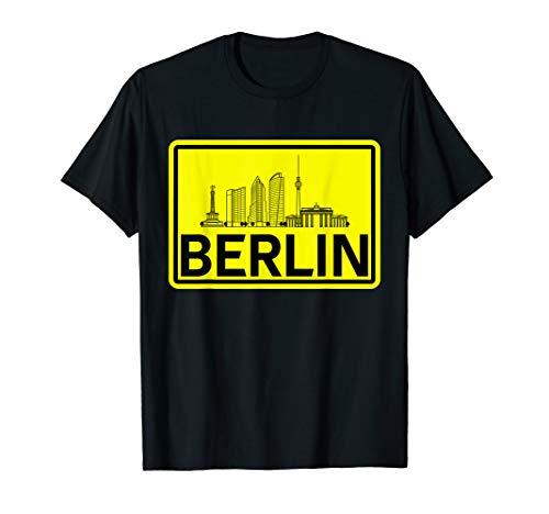 Skyline of Berlin   Geschenk für Männer und Frauen